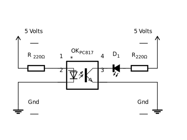 Similiar PC817 Circuit Keywords