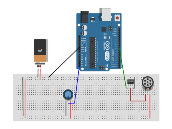 Arduino Dc Motor Speed Control Using A Mosfet And