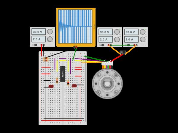 Actobotics heavy duty dc motor encoder example autodesk for Heavy duty dc motor