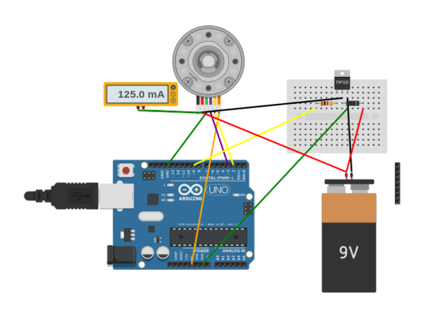 Hd motor with encoder test autodesk circuits for How to test stepper motor