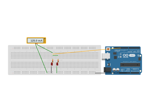 Blinking led arduino uno autodesk circuits